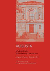 Wolfenbütteler Bibliotheks-Informationen 40/2015