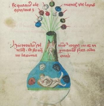 Bilder aus der Phiole. Untersuchungen zur Bildsprache der Alchemie der frühen Neuzeit
